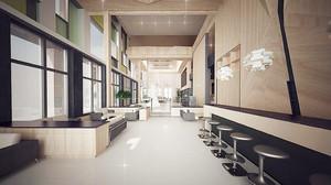 现代风格精致大型办公室装修效果图赏析