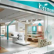 90平米现代风格精致儿童服装店装修效果图