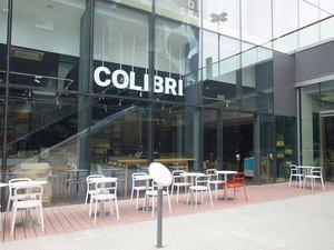 现代简约风格室外咖啡厅装修效果图欣赏