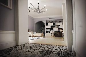 北欧风格精美复式楼室内装修效果图赏析