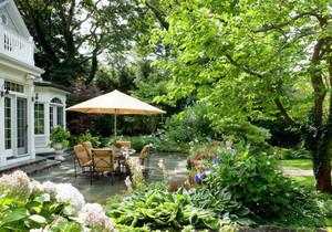 欧式风格别墅花园装修效果图赏析