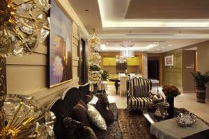 146平米欧式风格精致大户型室内装修效果图赏析