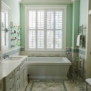 欧式风格简约清新大户型卫生间装修效果图赏析