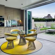 现代风格时尚休闲阳台设计装修效果图