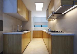 现代风格浅色整体厨房装修效果图赏析