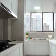 现代风格装修白色厨房装修效果图赏析