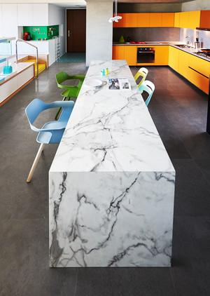 100平米现代风格时尚公寓装修效果图赏析