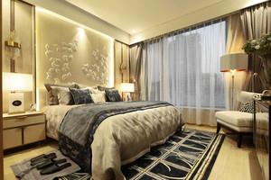 中式风格雅韵精致卧室装修效果图