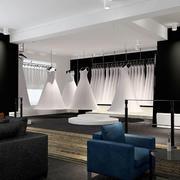 86平米现代风格精品婚纱店装修效果图