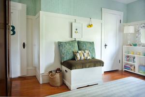 北欧风格温馨自然风儿童房装修效果图赏析
