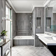 后现代风格大户型精致卫生间装修效果图欣赏