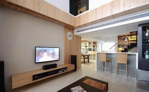 126平米简约风格小复式楼室内装修效果图赏析