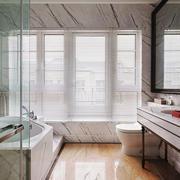 美式风格大户型质感卫生间装修效果图赏析
