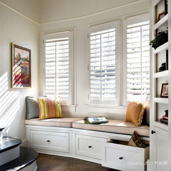 欧式风格精美休闲飘窗设计装修效果图