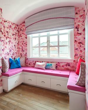 欧式风格别墅室内精美飘窗设计装修效果图