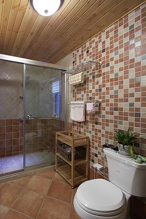 120平米欧式田园风格清新室内装修效果图赏析