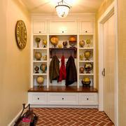 欧式风格实用玄关鞋柜设计装修效果图赏析