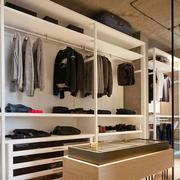 现代风格精致开放式衣帽间装修效果图欣赏