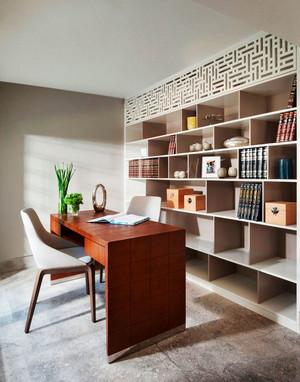 16平米现代风格精致书房装修效果图赏析