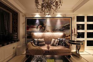 147平米新古典主义风格大户型室内装修效果图实例