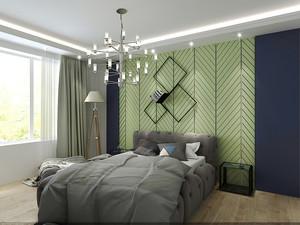 68平米宜家风格简约一居室小户型装修效果图案例