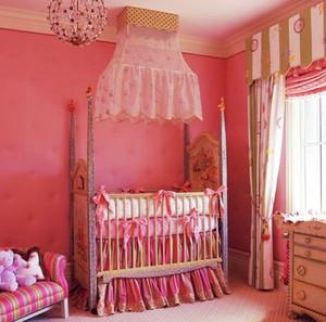 简欧风格时尚温馨儿童房设计装修效果图赏析