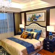 中式风格装修精致奢华卧室装修效果图赏析