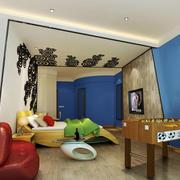 现代风格装修宾馆客房装修效果图