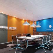 现代风格时尚小型会议室装修效果图赏析