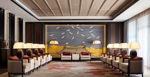 中式风格酒店会客厅装修效果图赏析