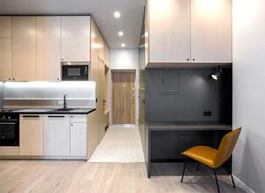 54平米现代风格个性单身公寓装修效果图赏析