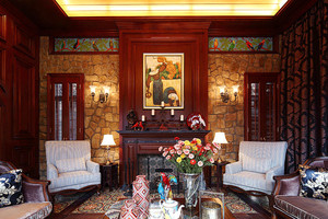 异域独特东南亚风格别墅室内装修效果图赏析