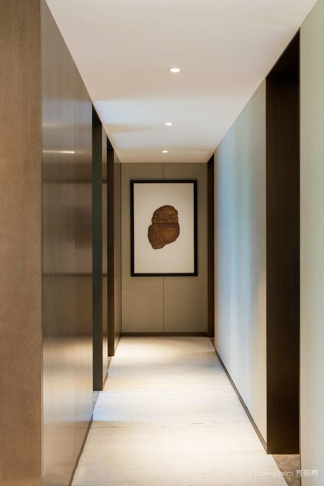 中式风格精致过道装修效果图欣赏