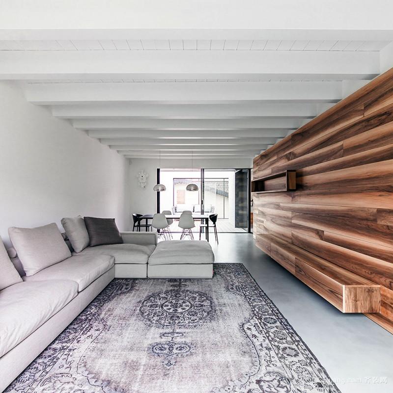 后现代风格极简主义别墅室内装修效果图案例