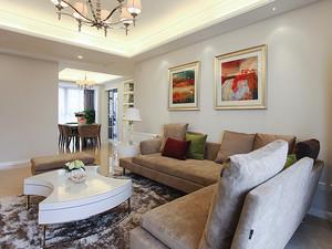 90平米简欧风格温馨两室两厅室内装修效果图赏析