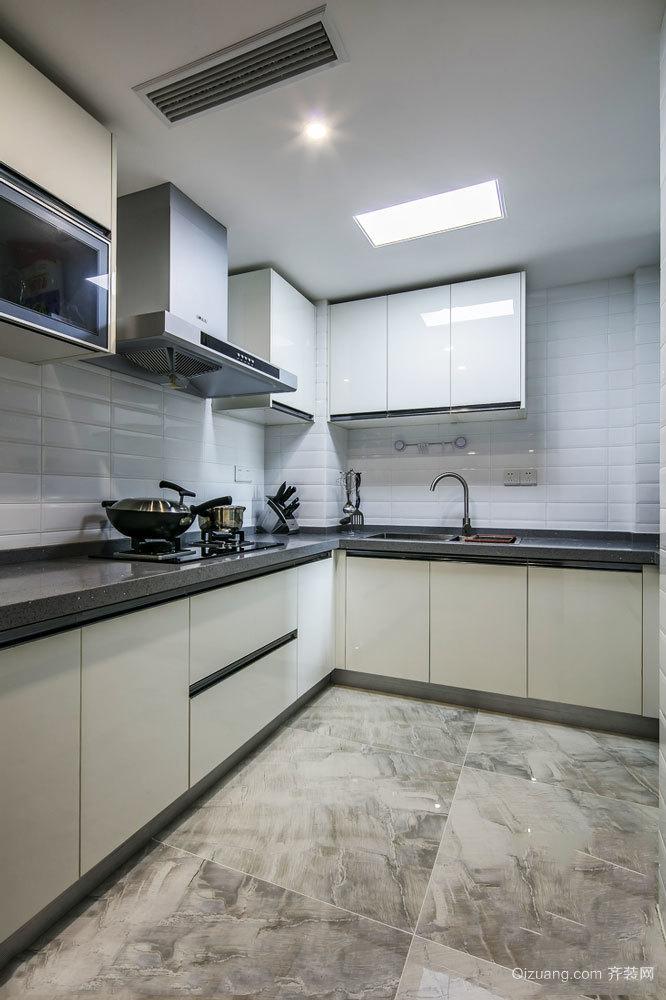 简约风格三居室厨房装修效果图赏析