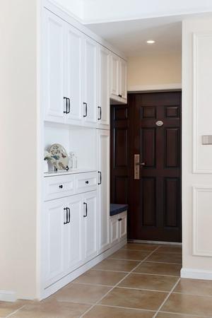 97平米美式风格精致两室两厅室内装修效果图案例