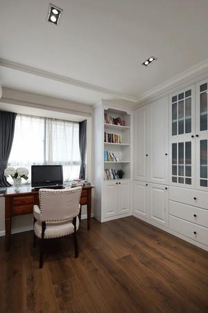 美式风格大户型精致书房装修效果图欣赏