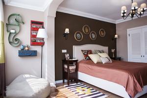 美式风格精美卧室背景墙装修效果图赏析