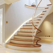 欧式风格精致别墅楼梯设计装修效果图赏析