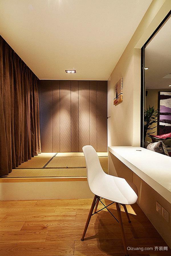 现代风格榻榻米卧室装修效果图欣赏