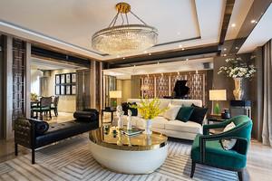 157平米新古典主义风格大户型室内装修实景图欣赏