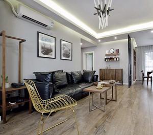 88平米宜家风格雅致两室两厅室内装修效果图案例