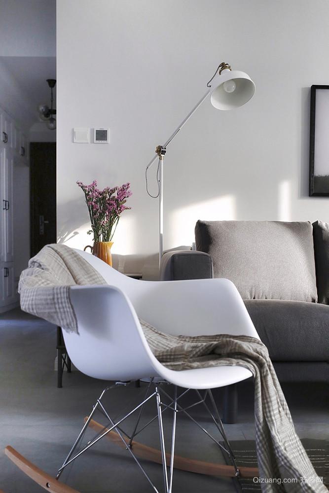 72平米宜家风格简约一居室室内装修效果图案例