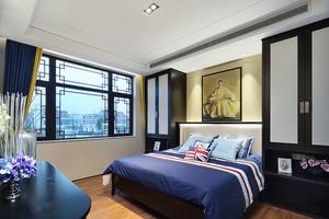114平米中式风格古典气质三室两厅室内装修实景图赏析