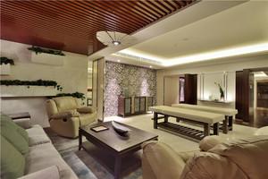 148平米中式风格精致大户型室内装修效果图赏析