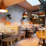 80平米现代风格餐厅装修效果图
