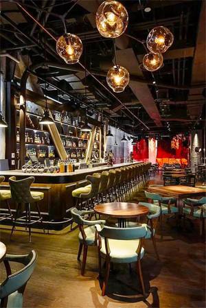 复古风格精致酒吧装修效果图欣赏