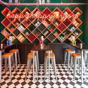 混搭风格时尚创意餐厅装修效果图