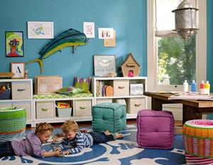 简约风格时尚多彩儿童房装修效果图大全